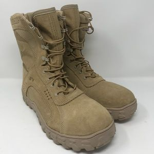 Rocky S2V Tan Military Boots NEW sz 11 M
